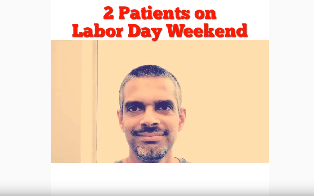 Patients on Labor Day