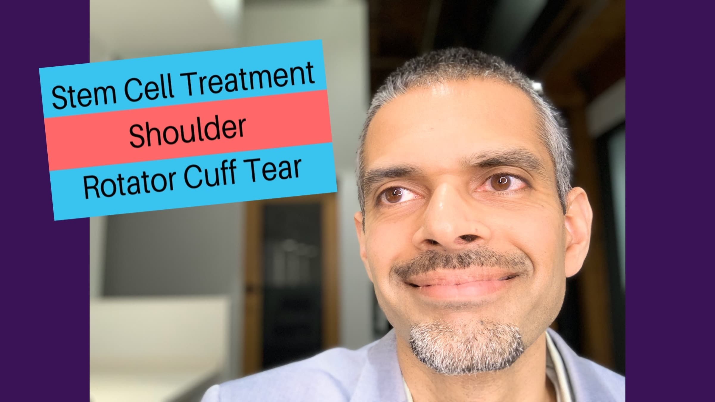 Stem Cell Treatment- Shoulder Rotator Cuff Tear