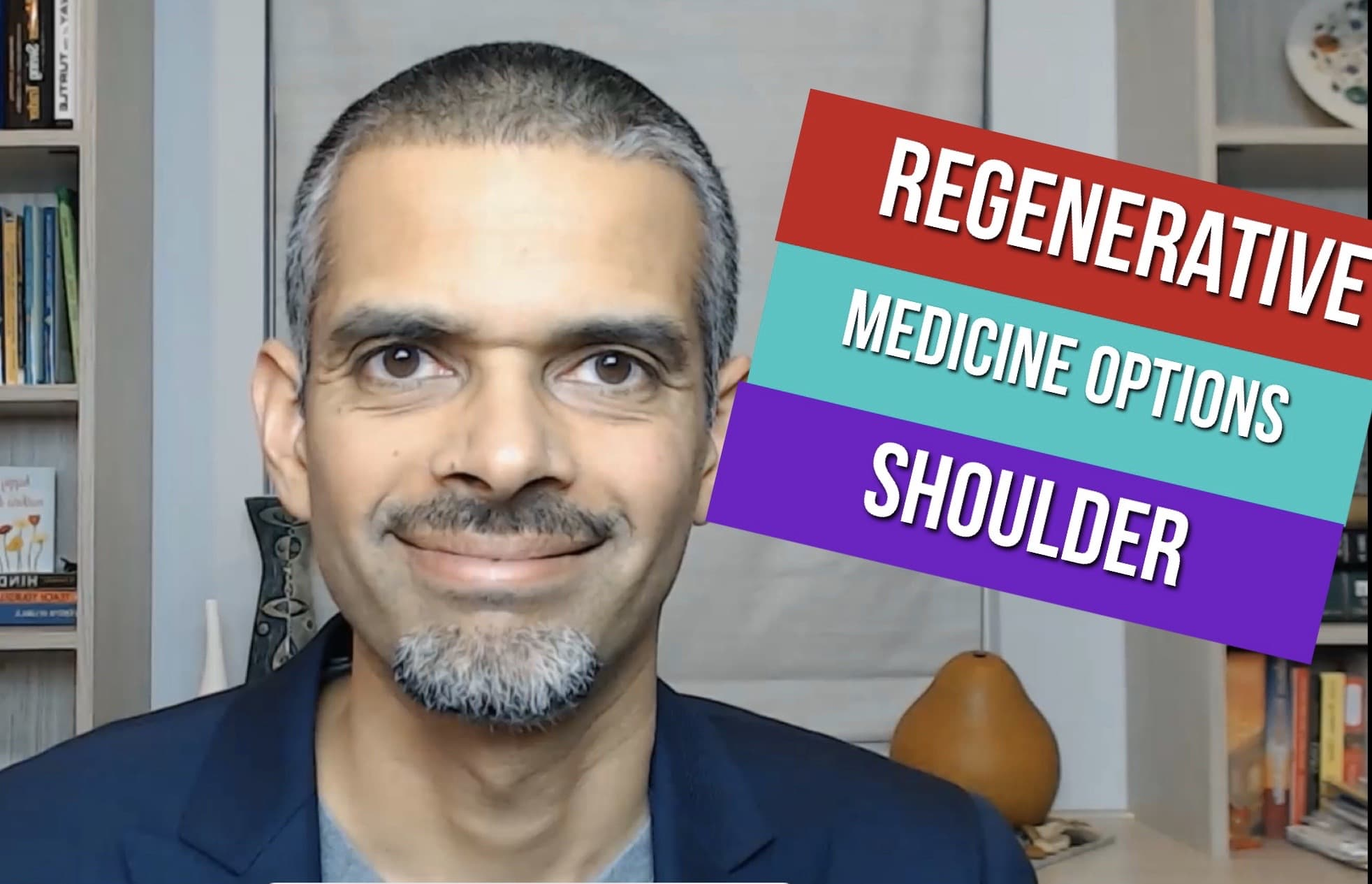 Shoulder Pain- Regenerative Medicine treatment options