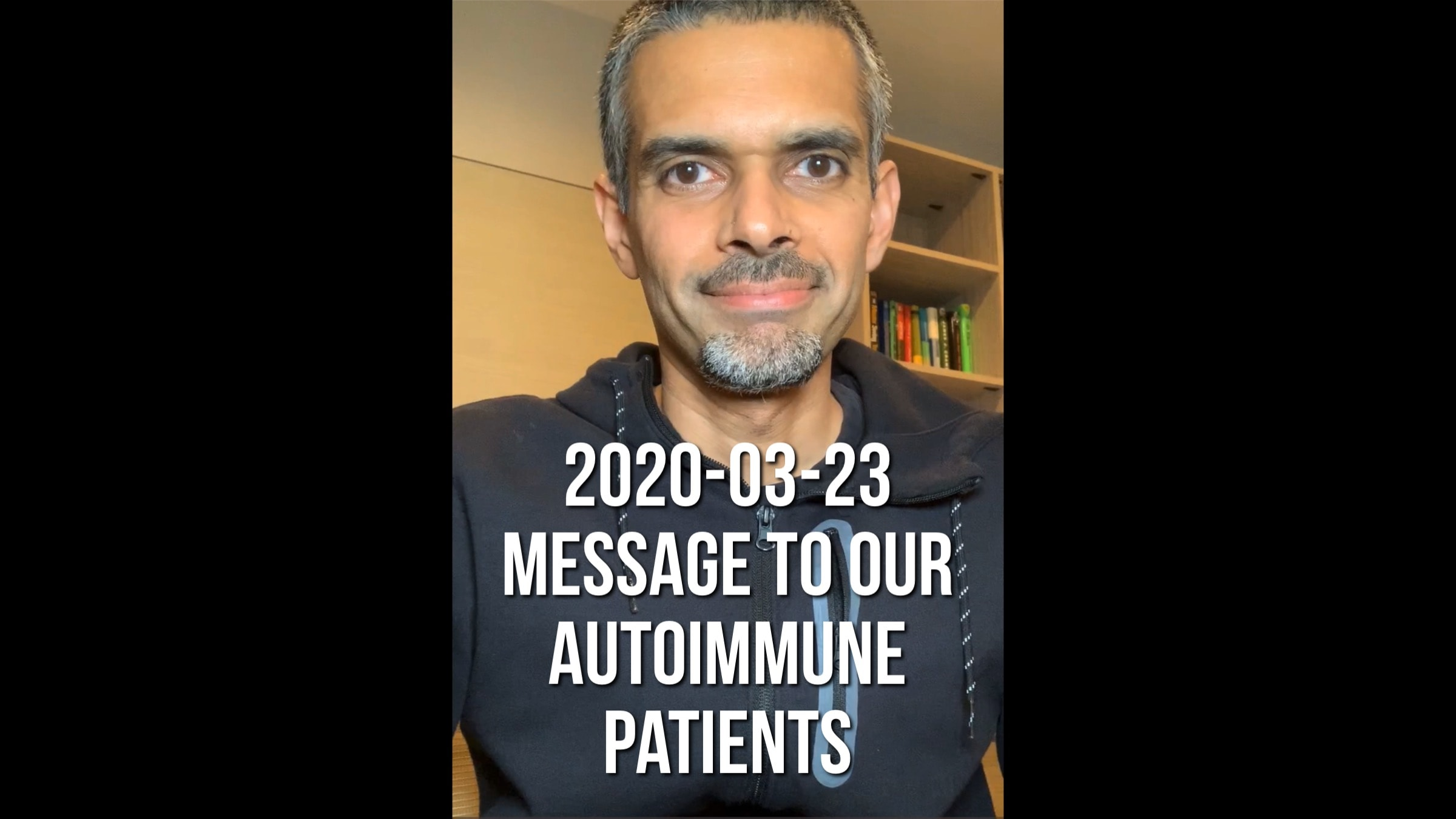 Corona update- Msg to our AutoImmune patients- 20200323