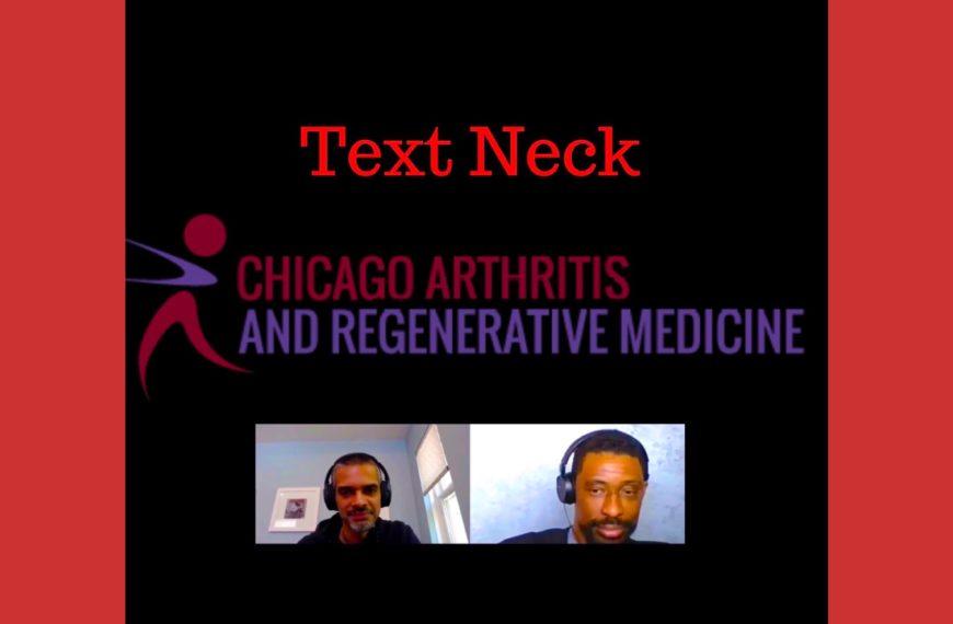 Text Neck causing Neck Pain, Tik Tok style