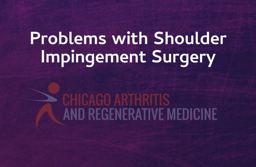Issues with Shoulder Impingement Surgery