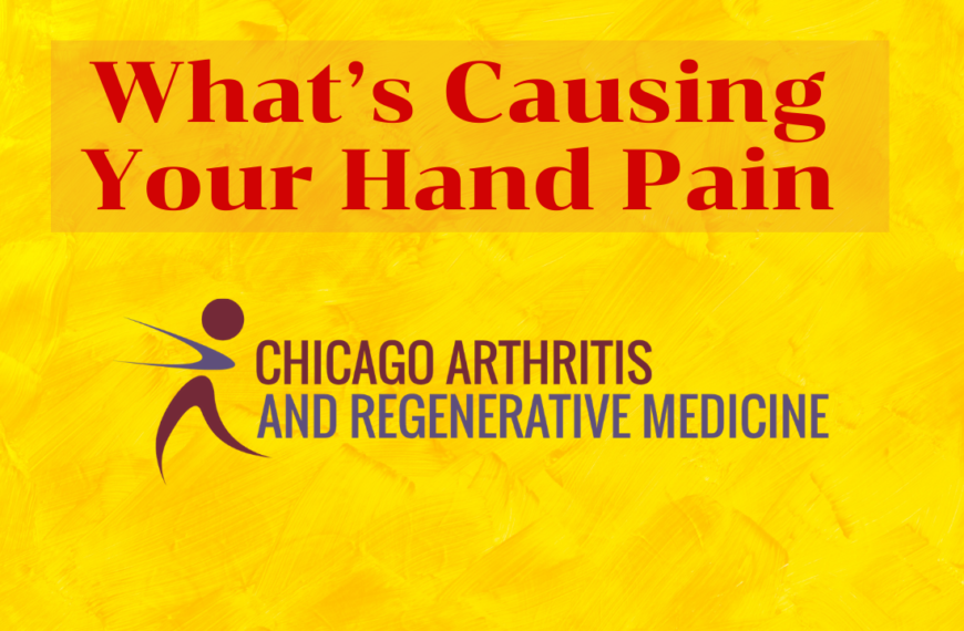 What's Causing Your Hand Pain?