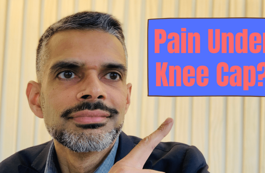 Why Do I Have Pain Under My Knee Cap?